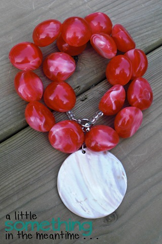 Coiled Coral Necklace WM