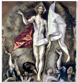 Jesus Cristo Ressuscitado [El Greco]