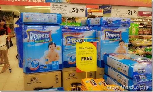 Drypers weeweeDRY 1