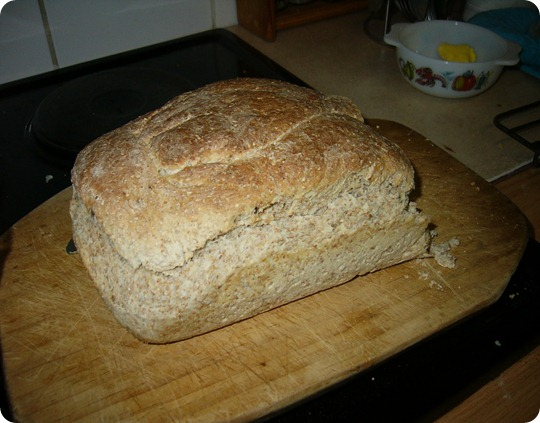 Home Baked Brown Bread