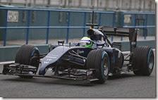 Massa nei test di Jerez 2014