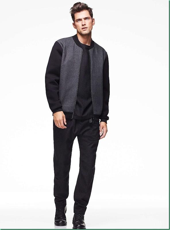 Sean O'Pry for Simons Le 31 Urban - Fall 2013 Lookbook
