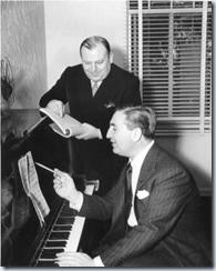 Dubin and Warren at work