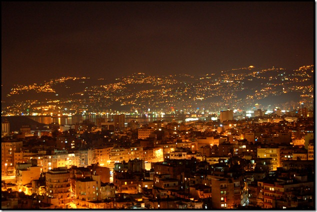 beirut by night