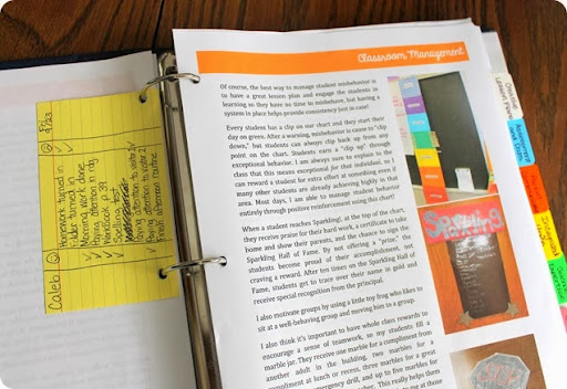 Luckeyfrog's Lilypad: How to Make a Teacher Portfolio That Gets ...