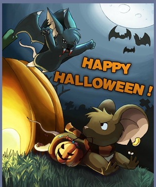 happy halloween - imagem de abertura
