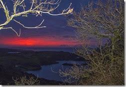 Amanecer en Loch Hyne
