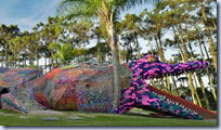 Crocheted Aligator