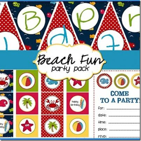 free-beach-themed-party-printables