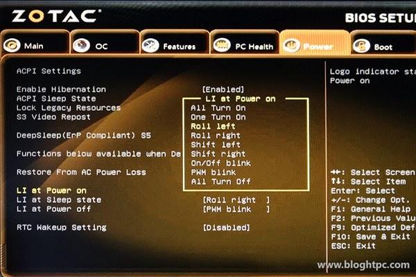 BIOS ZOTAC ZBOX SPHERE OI520