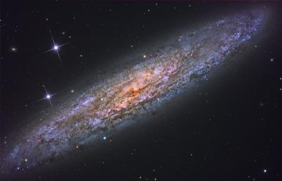 galáxia espiral NGC 253