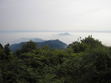 View north from the summit of Gunung Besar (Daniel Quinn, October 2011)
