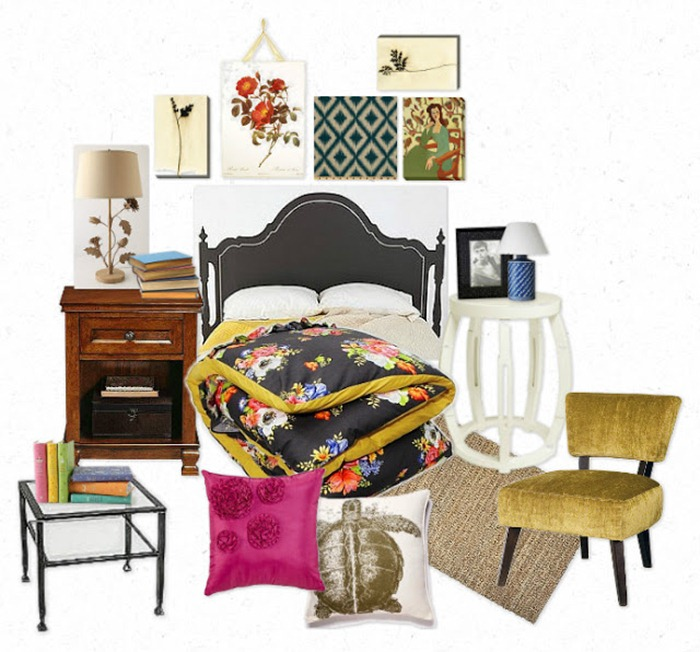 O quarto da Jess ( New girl)