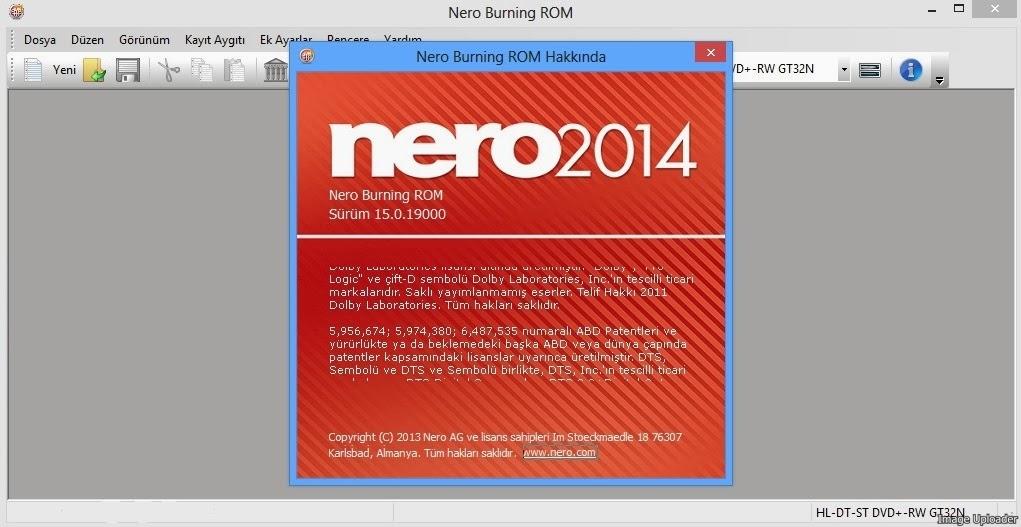 Nero Burning ROM 2015 v16.0.01300 Türkçe Full
