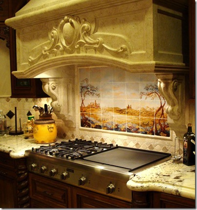 decorative stove hood