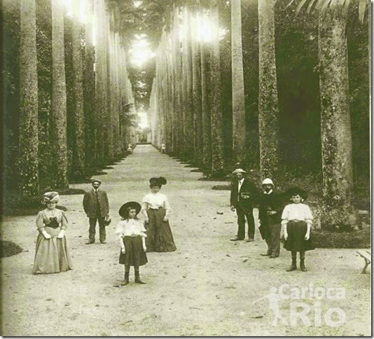 1893 - Em família - Jardim Botânico