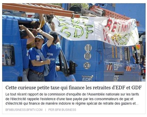 taxa de finançament d'EDF