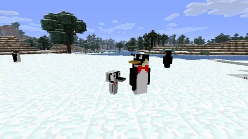 Rancraft-Penguins-Mod-Minecraft-più-pinguini