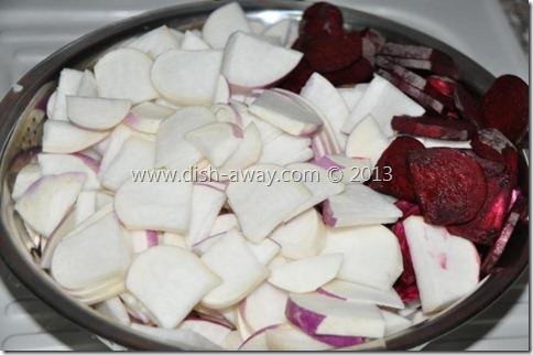 Pickled Turnips Recipe by www.dish-away.com