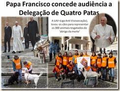 Papa Francisco concede audiência a Delegação de Quatro[3]