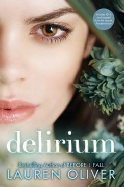 Delirium - Lauren Oliver - US cover