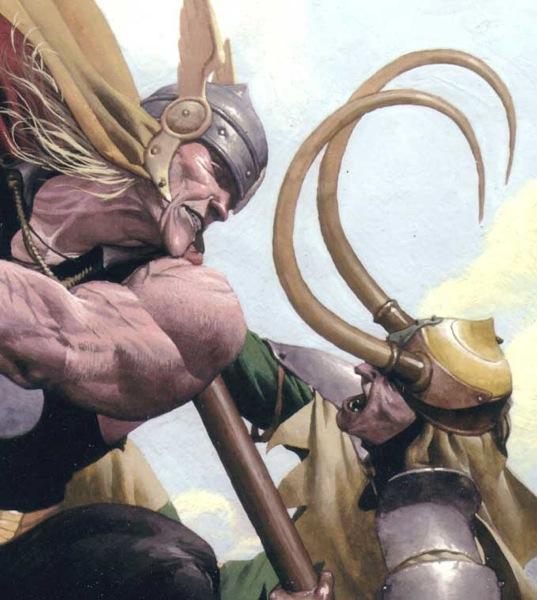 Thor leyenda de Marvel