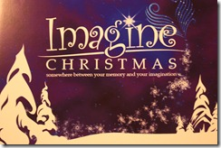 Imagine Christmas Sign