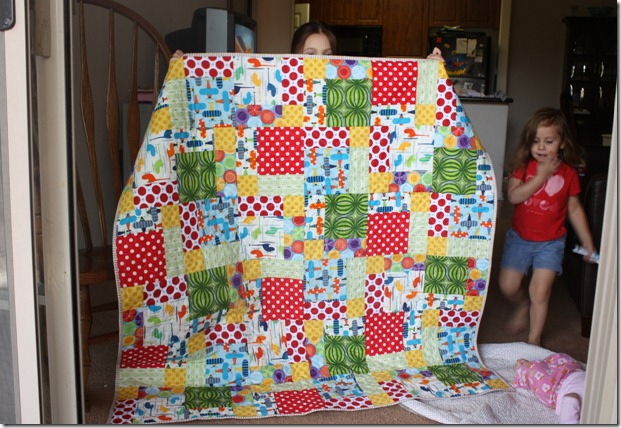 Boy Quilt Helpers