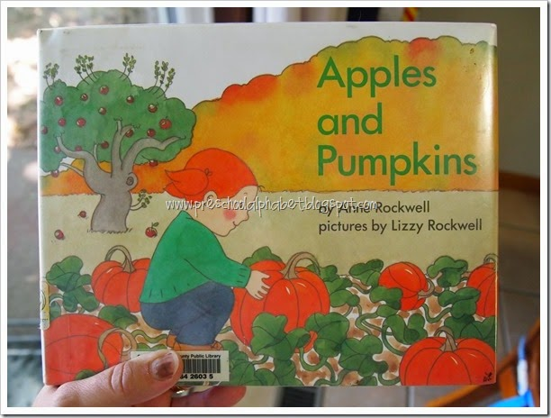 A is for Apples {Preschool Alphabet}