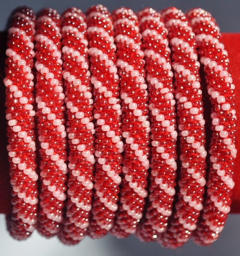 Rollover Bracelets Red Series