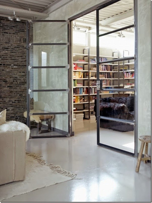 case e interni - loft country chic (2)