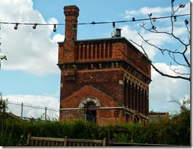 8 listed water tower at st pancras