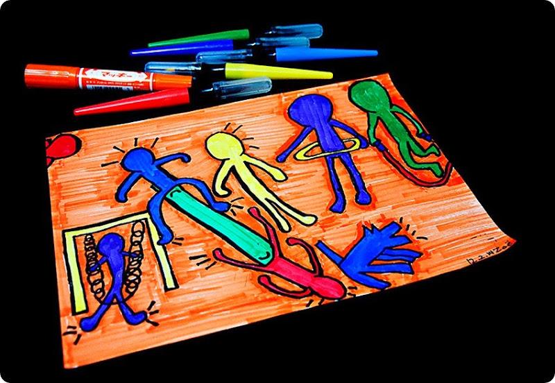 Zoe's-Art---Haring-(1)