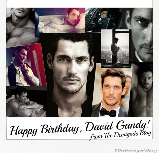 Happy Birthday David Gandy sm mens fashion
