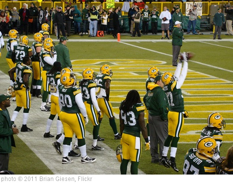 'Packers Bears Game' photo (c) 2011, Brian Giesen - license: http://creativecommons.org/licenses/by/2.0/