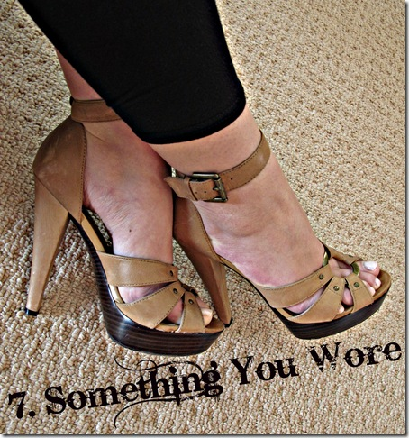 7 Something you wore