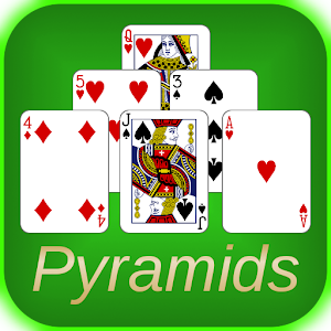 Pyramids solitaire is a collection of 5 fun versions of the classic
