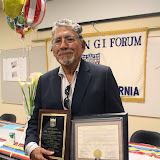 American G.I. Forum recognizes Al Castellano