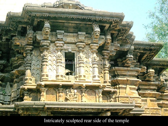 mahalakshmi_temple_Intricately sculpted rear side of the temple