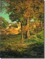3-Thornberrys-Pasture-Brooklyn-Indiana-landscape-John-Ottis-Adams