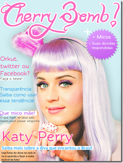 Capa da Revista Cherry Bomb