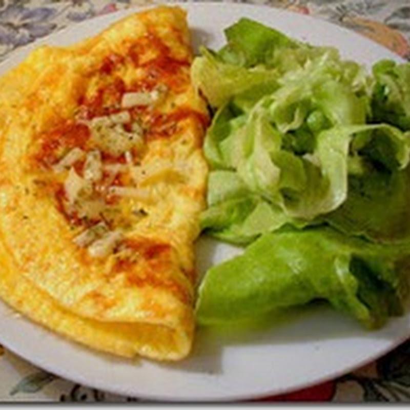 دراسة: البيض المخفوق مع الخضروات أفضل وجبة للافطار