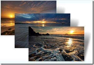 Beach Sunsets theme For Windows 7