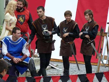 Obiective turistice Romania: cavaleri sighisoreni