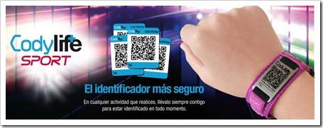 CODYLIFE el identificador con código QR más completo para el jugador de pádel.