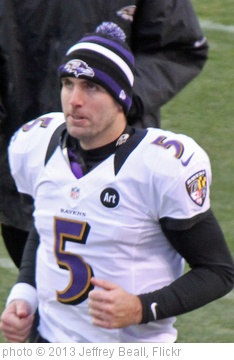 'Joe Flacco, Quarterback' photo (c) 2013, Jeffrey Beall - license: http://creativecommons.org/licenses/by-sa/2.0/