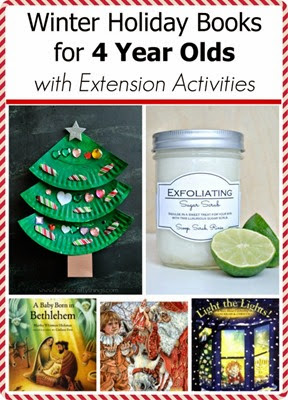 Winter holiday books for 4 year olds with extension activities
