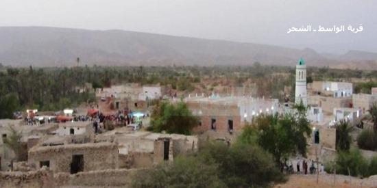 قرية الواسط بالشحر