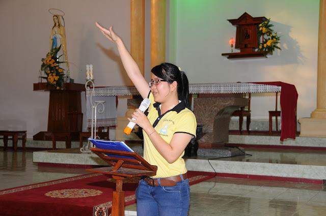 Giới Trẻ và Sinh Viên Công Giáo Hạt Bình Định Tĩnh Tâm Mùa Chay 2013