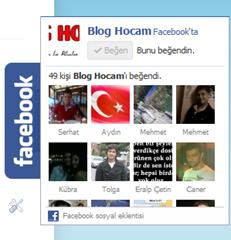 Blogunuza Sabit Açılır Facebook Beğen Kutusu Ekleyin